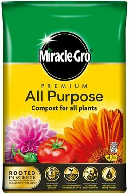 £10.99 • Buy Miracle-Gro All Purpose Enriched Compost Soil Potted Garden Flower Plant 40-80L