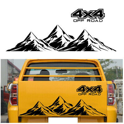 $17 • Buy 4X4 Off Road Mountain Room Graphic Decal Stickers For Car Auto Exterior Decor