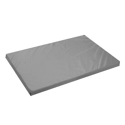 £16.99 • Buy GREY Dog Crate Mattress Bed Cage Cushion Mat Waterproof FR Approved Pad Cover