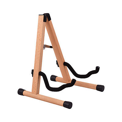 $ CDN45.67 • Buy Portable Wood Guitar Stand Solid Wood Folding A-shaped Guitar Stand For H5Z4