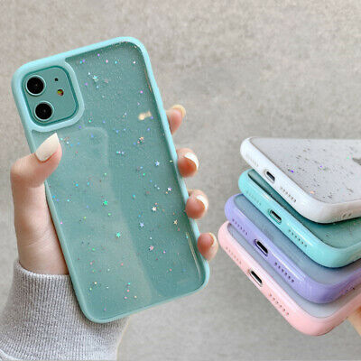 AU11.59 • Buy For IPhone 12 Pro MAX 11 Pro XS Max XS XR 8 7 Plus Bling Gilter Clear Case Cover