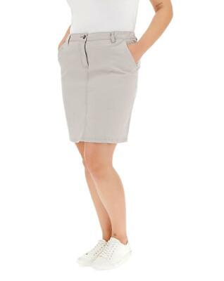 £8.95 • Buy CAPSULE LADIES STRETCH COTTON RICH CHINO SKIRT SIZE 22 NEW (ref 228)