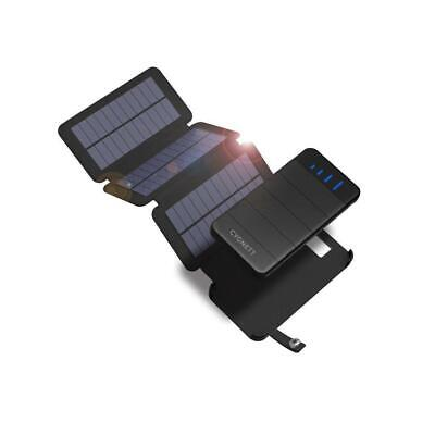 AU79.96 • Buy NEW Cygnett ChargeUp Explorer 8k Power Bank With 3 Solar Panels | Battery Pack