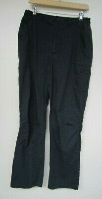 Berghaus Trousers W34 L32 Navy Blue Outdoor Cargo Walking Hiking Camping Comfort • 50£