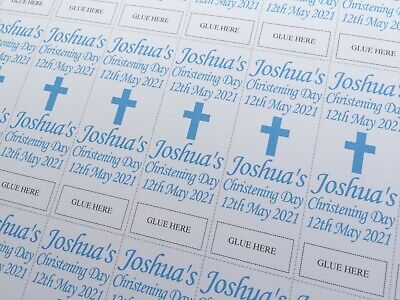 £3.29 • Buy 40 Personalised Christening/Baptism Sweets Wrappers ONLY Love Hearts Favour Mini