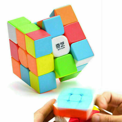 £4.59 • Buy NEW Rubik's Cube Magic Cube Smooth Fast Speed Rubix Rubiks Puzzle Kids Gifts