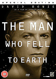 The Man Who Fell To Earth (DVD, 2007, 2-Disc Set) • 7.66£