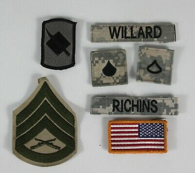 £3.99 • Buy Genuine US Military Badges Patches Embroidered Army Airforce Special Forces