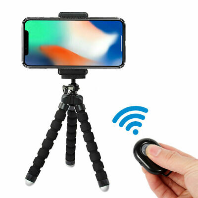 Universal Octopus Mobile Phone Holder Tripod Stand For IPhone Samsung Camera • 4.99£