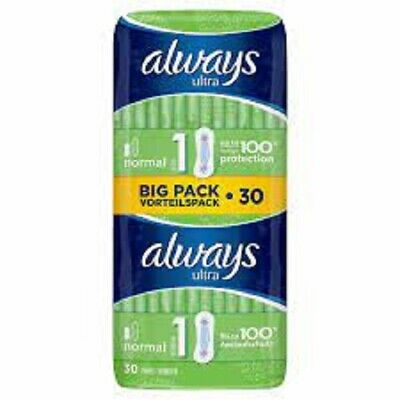 £6.20 • Buy Always Classic 30 Pads Size 1