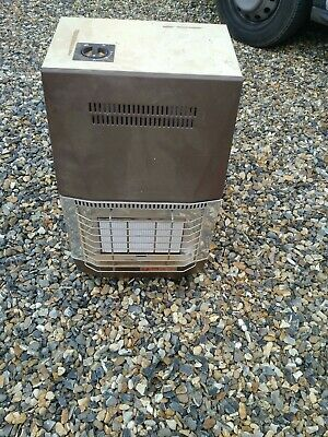 Calor Gas Heater 'Alvima' Double E With Gas Cylinder Bottle.Portable.Used Item  • 55£