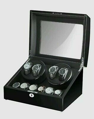 $ CDN176.11 • Buy Maselex 4 Watch Winder Box For Automatic Watches With 6 Storages And Quiet- Read