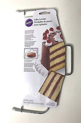 Wilton Cake Leveler For Cakes Up To 10  Wide Torte Cakes Level For Layers - New  • 6.80£