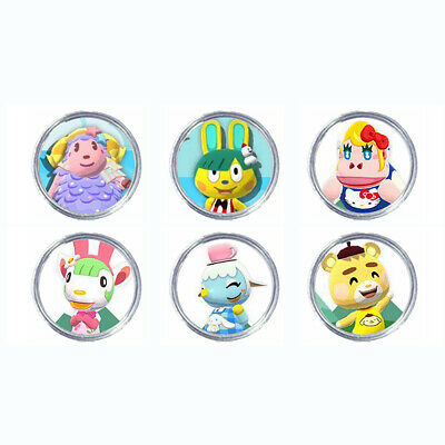 AU14.59 • Buy SANRIO COLLECTION All 6 Animal Crossing Amiibo Coin EXCELLENT PRICE 2021 AU