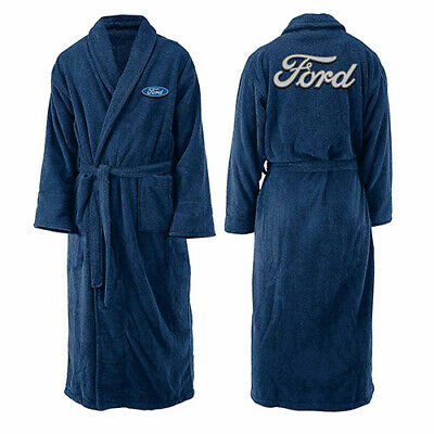 AU67.95 • Buy Ford Mens Long Sleeve Robe Dressing Gown V8 Supercars