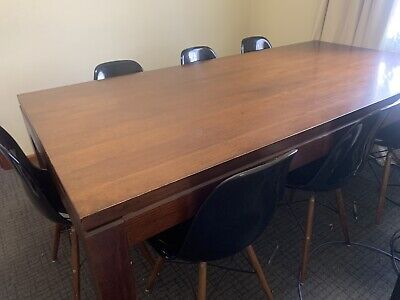 AU150 • Buy Solid Wood Dining Table And 8 Chairs