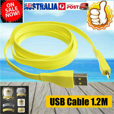 AU8.77 • Buy 1.2M Data Cable Micro USB PC Charger For Logitech UE BOOM Bluetooth Speakts-