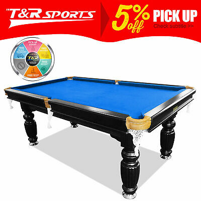 AU1109.99 • Buy 7FT Luxury Slate Pool Table Solid Timber Billiard Table Snooker Table