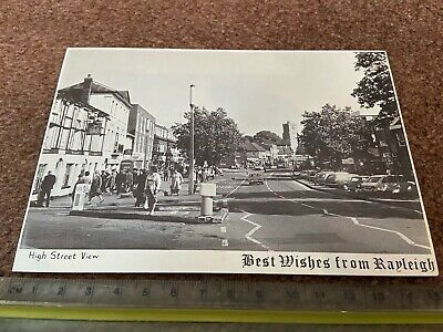 £8 • Buy Best Wishes From Rayleigh Card - Essex - High Street Church - 1960s - Unused
