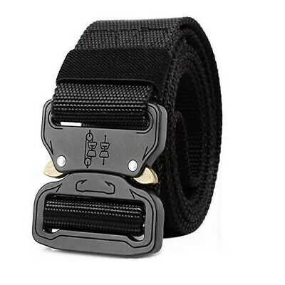 £5.99 • Buy Outdoor Hiking Camping Sports Waistband Army Military Nylon Buckle Belt