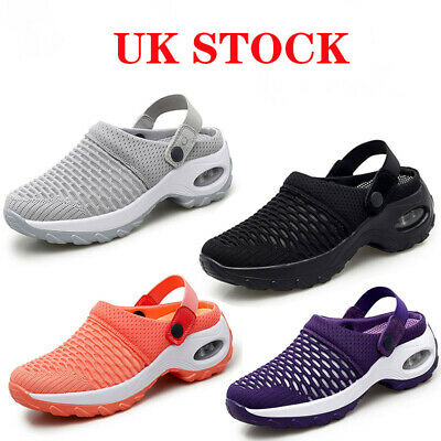 £15.99 • Buy Women's Trainers Running Air Cushion Comfy Sneakers Slip On Mesh Slipper Loafer
