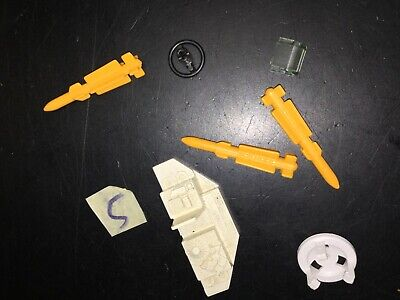 $ CDN42.45 • Buy Vintage GI Joe Cobra Vehicle Parts 1985 Snow Cat LOT 5 Headlight Steering Wheel