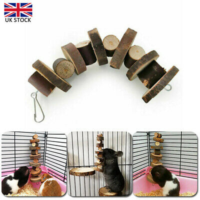 £5.12 • Buy 1PCS Small Pets Apple Wood Chew Sticks Twigs For Rabbit Hamster Guinea Pig Toys