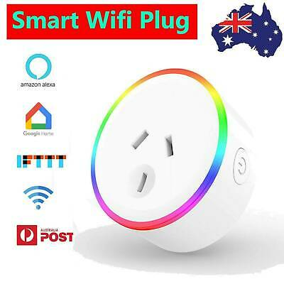 AU16.87 • Buy Wifi Smart Plug Socket Switch Outlet Adaptor Amazon Alexa Google Home 10A