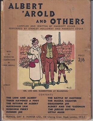 Albert 'Arold And Others.  Written By Marriott Edgar Performed: Stanley Holloway • 10.50£
