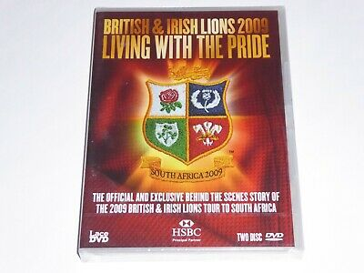£5.99 • Buy British And Irish Lions 2009 Tour Documentary: Living With The Pride NEW 2x DVD