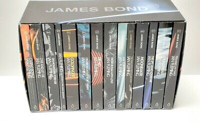 $120 • Buy James Bond 007 Collection Box 14 Book Set (Penguin, 2002) Excellent