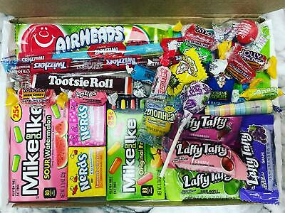 £9.99 • Buy American Sweets Box Candy Gift Hamper Personalised USA Candies
