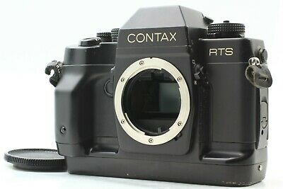 $ CDN313.29 • Buy  Exc+4  Contax RTS III MF 35mm SLR Film Camera Black Body From JAPAN #1338