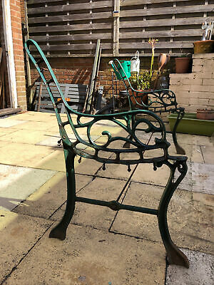 Wrought Iron Garden Bench (ends Only) • 24£