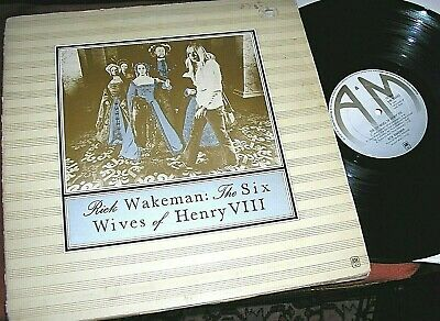 RICK WAKEMAN  -     The Six Wives Of Henry VIII,     UK DEBUT LP • 2.99£