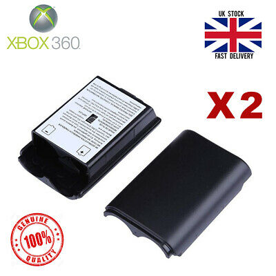 £3.29 • Buy Xbox 360 Controller Battery Back Cover Case Shell - Black