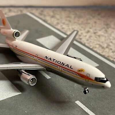 $79.99 • Buy Aero500 500 Scale Diecast Model National DC10-30 Commercial Airliner N82NA