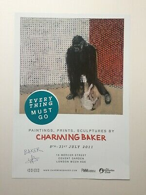£22 • Buy Charming Baker Everything Must Go Signed Limited Edition Turquoise Print Banksy