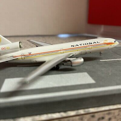 $79.99 • Buy Aero500 500 Scale Diecast Model National Airline DC-10 Commercial Airliner N81NA