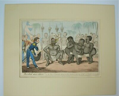 £197.12 • Buy SCARCE George Cruikshank 1815 ~ Puzzled Which To Choose ~Satire Etched Engraving