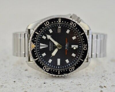 $ CDN19.42 • Buy SEIKO #7002-7001 Stainless Steel Vintage 1990 Scuba Divers 150m Automatic Watch