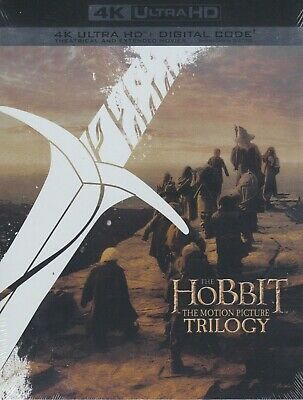 AU17.24 • Buy The Hobbit The Motion Picture Trilogy Collection 4k Ultra Hd & Digital Box Set