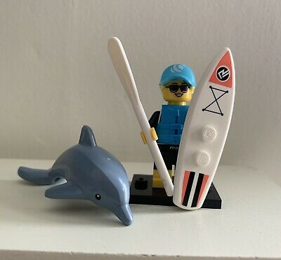 Lego Minifigures Paddle Surfer Series 21 • 2.99£