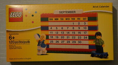 LEGO 853195 Brick Calendar With Two Minifigures (Sealed Box) Retired • 39.95£