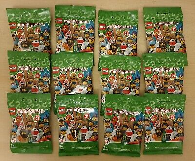 LEGO Series 21 Minifigures (71029) Complete Set Of 12 - Brand New & Unopened • 42.99£