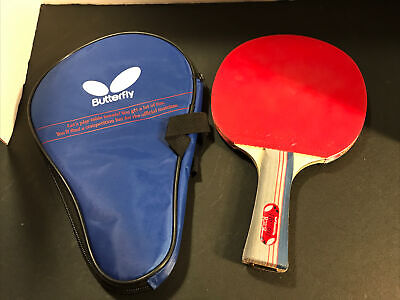 AU25.56 • Buy Butterfly Yuki TBC 401 Table Tennis Racket W Protective Case Racket W/rubber