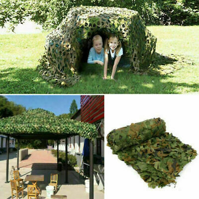 Camo Net Hunting/Shooting Camouflage Netting Hide Army Camping Woodland Netting • 12.99£