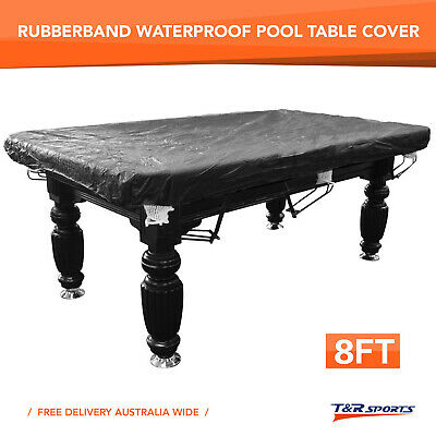 AU24.99 • Buy 15% OFF 8FT Rubber Band Water Resistance Cover For Pool Snooker Billiard Table