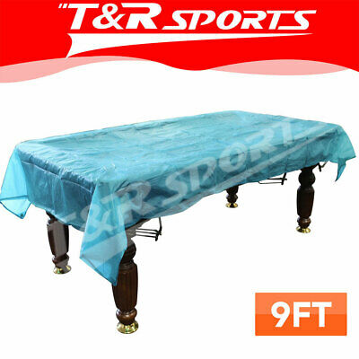 AU26.99 • Buy ECONOMIC 9FT BILLIARD POOL TABLE COVER Weighted Corners
