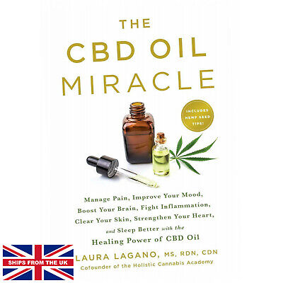 £17.25 • Buy CBD Oil Miracle - Laura Lagano (Paperback) - Manage Pain, Improve Your Mood, ...